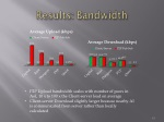 results bandwidth