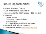 future opportunities