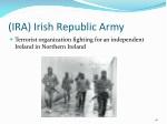 ira irish republic army