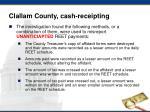 clallam county cash receipting1