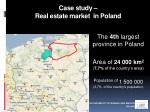 case study real estate market in poland