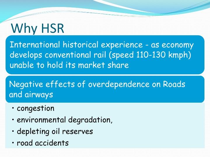 Why HSR