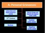 a personal grievances