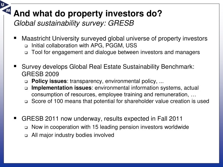 And what do property investors do?
