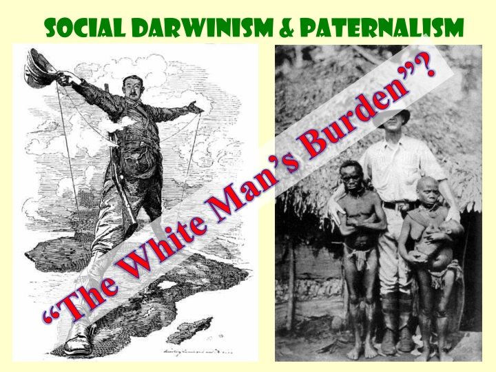 an analysis of imperialism fueled by social darwinism Imperialism & social darwinism kj benoy imperialism ‡ ³the policy of a state aiming at establishing control beyond its borders over people generally unwilling to accept such control´ » encyclopedia britannica  reasons for imperialism ‡ old imperialism ± strategy ± economics .