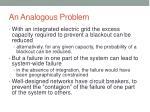 an analogous problem