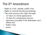 the 6 th amendment