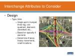 interchange attributes to consider