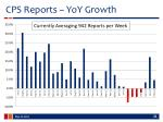 cps reports yoy growth