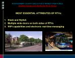 montgomery county executive s transit task force system design and attributes work group4