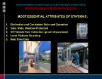 montgomery county executive s transit task force system design and attributes work group5
