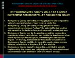 montgomery county executive s transit task force system design and attributes work group8