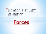 newton s 3 rd law of motion