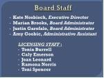 board staff