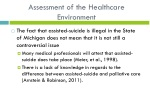 assessment of the h ealthcare e nvironment