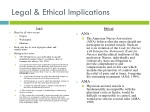 legal ethical implications