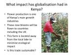 what impact has globalisation had in kenya4