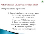 what value can uk service providers offer