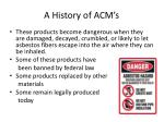 a history of acm s2