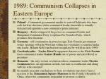 1989 communism collapses in eastern europe