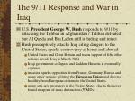 the 9 11 response and war in iraq