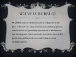 what is bubble