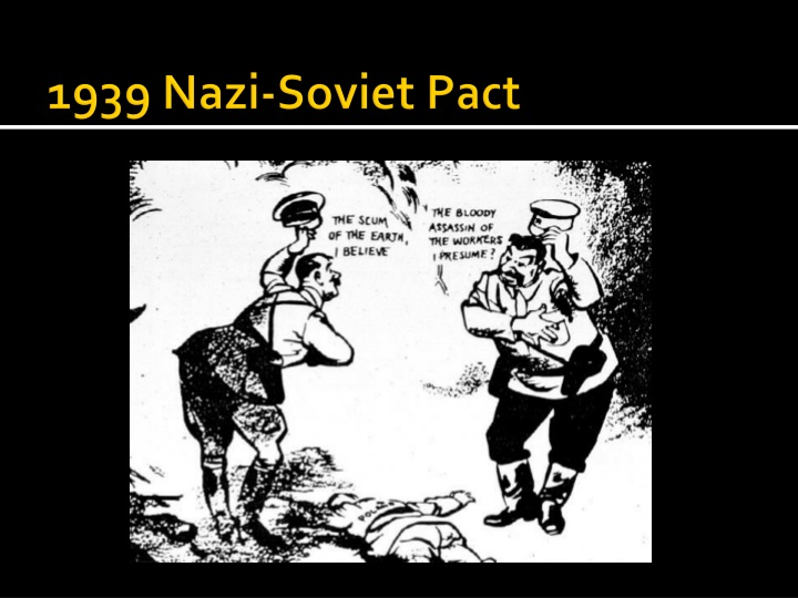 nazi-soviet pact essay This rewriting of history is spreading europe's there's no doubt that the pact of august 1939 was a shocking act of realpolitik by the state that had led.
