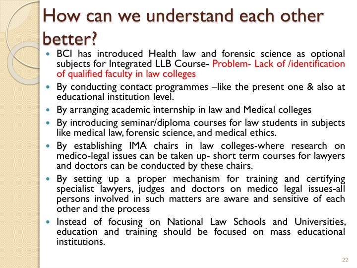 How can we understand each other better?