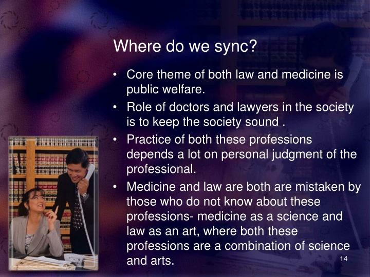 Where do we sync?
