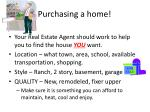 purchasing a home10