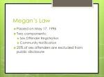 megan s law