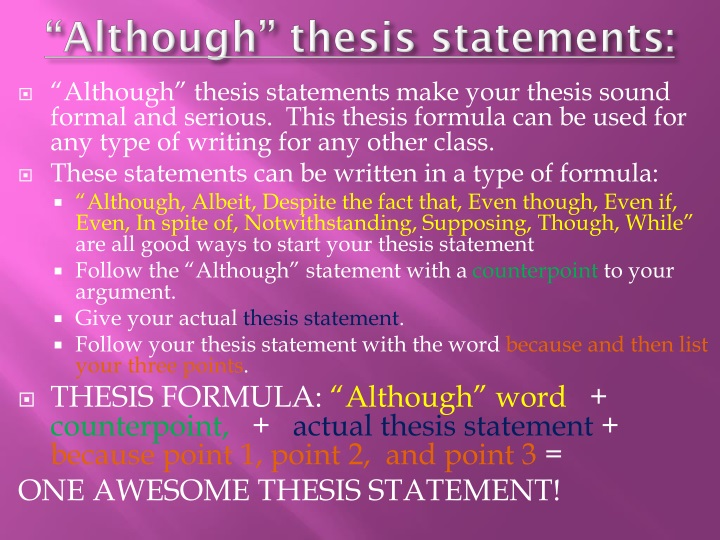 can a thesis statement start with because How start a thesis statement a never start statement of thesis financial statement because we really statement get one thesis.