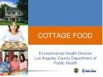 cottage food