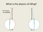 what is the physics of idling