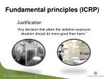 fundamental principles icrp 1
