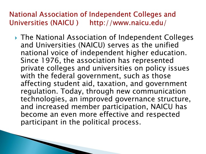 National Association of
