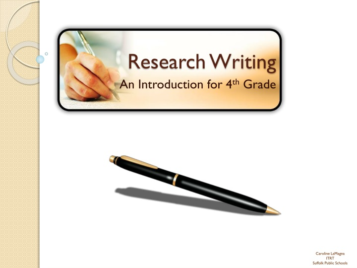 writing academic research paper Writing is a way to add texture and meaning to your life, to be surprised by discovering what you know and what you don't know, whether you're writing a research paper, a letter to a friend or starting a novel.