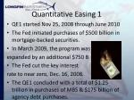 quantitative easing 1