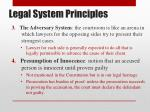 legal system principles1