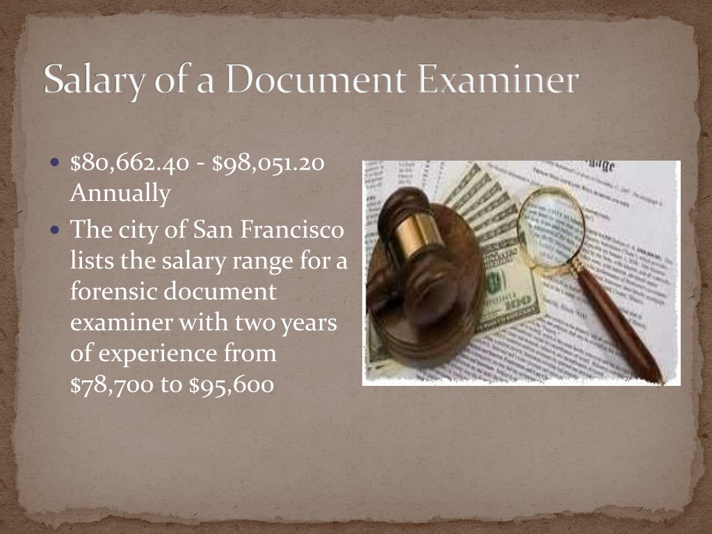 Ppt Document Examiner Powerpoint Presentation Free Download Id 1529896