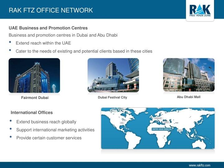 RAK FTZ Office Network