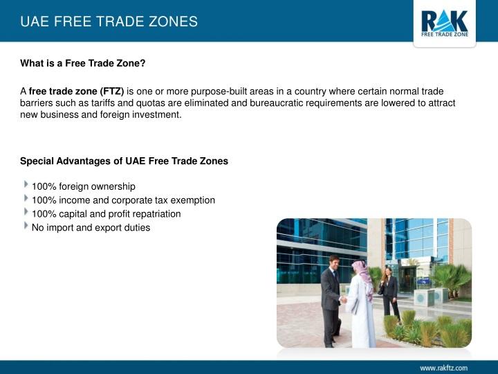 UAE Free Trade Zones