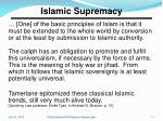 islamic supremacy