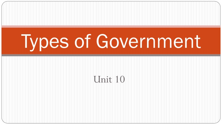 types of government n.