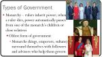 types of government1