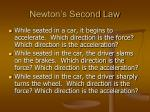 newton s second law1