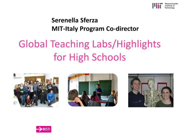 global teaching labs highlights for high schools n.