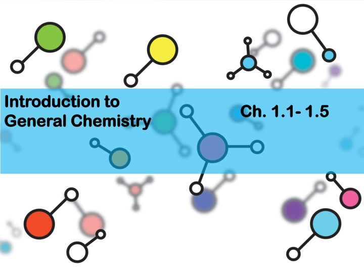 introduction to general chemistry n.