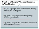 number of people who are homeless in washington