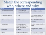 match the corresponding who where and why